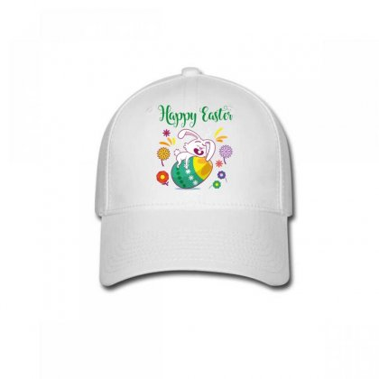 Happy Easter Baseball Cap Designed By Wizarts