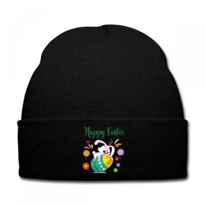 Happy Easter Knit Cap Designed By Wizarts