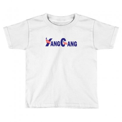 Yang For President Toddler T-shirt Designed By Willo
