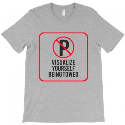 Visualize Yourself Being Towed T-shirt Designed By Milanacr