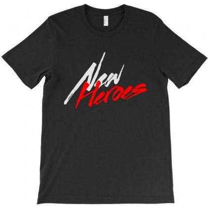The New Heroes T-shirt Designed By Blqs Apparel
