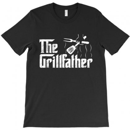 The Grillfather Bbq Grill T-shirt Designed By Blqs Apparel