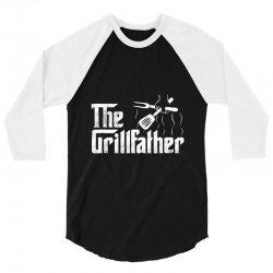 the grillfather bbq grill 3/4 Sleeve Shirt | Artistshot
