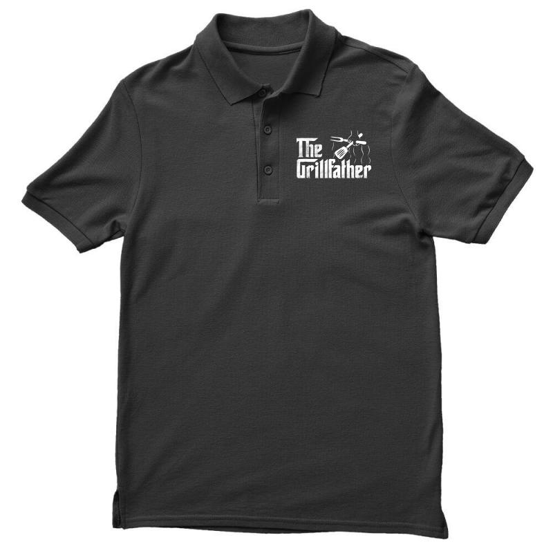 The Grillfather Bbq Grill Men's Polo Shirt | Artistshot