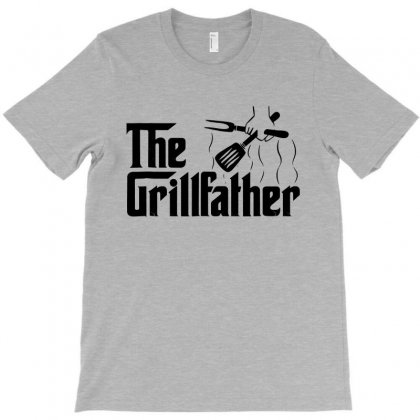 The Grillfather Bbq Grill & Smoker T-shirt Designed By Blqs Apparel
