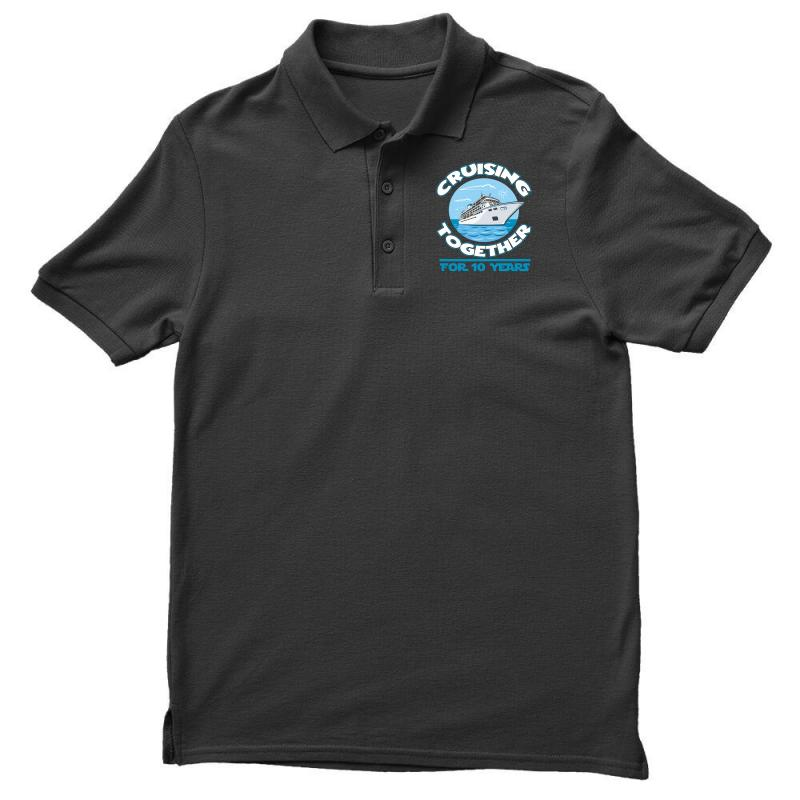 d13763f11 Custom Cruising Together For 10 Years Anniversary Gift T Shirts Polo Shirt  By Hung - Artistshot