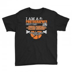 funny photographer gifts t shirt camera lover photography Youth Tee | Artistshot