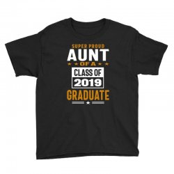 Super Proud Aunt of a Class of 2019 Youth Tee | Artistshot