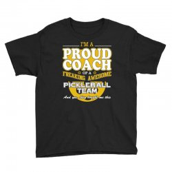 proud pickleball coach shirt   gift for pickleball coach Youth Tee | Artistshot