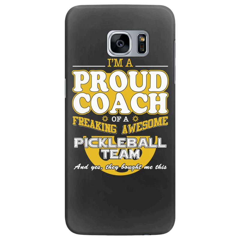 new concept 0af53 ed13a Proud Pickleball Coach Shirt Gift For Pickleball Coach Samsung Galaxy S7  Edge Case. By Artistshot