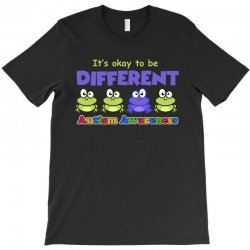 it s okay to be different autism awareness t shirt T-Shirt | Artistshot