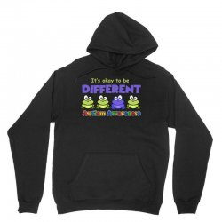 it s okay to be different autism awareness t shirt Unisex Hoodie | Artistshot