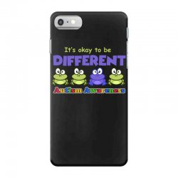 it s okay to be different autism awareness t shirt iPhone 7 Case | Artistshot