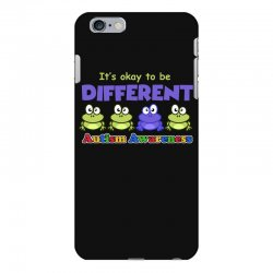 it s okay to be different autism awareness t shirt iPhone 6 Plus/6s Plus Case | Artistshot