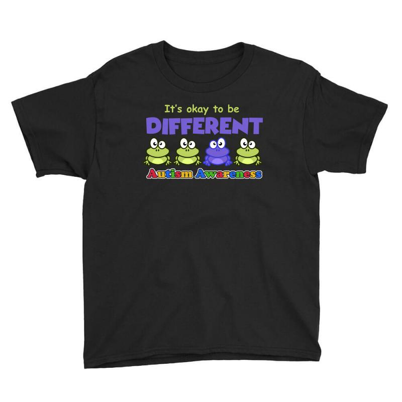 It S Okay To Be Different Autism Awareness T Shirt Youth Tee | Artistshot