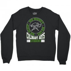 culinary arts student   no sleep, money, life t shirt Crewneck Sweatshirt | Artistshot