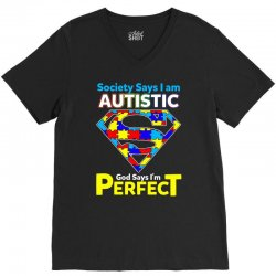 autism awareness t shirt V-Neck Tee | Artistshot