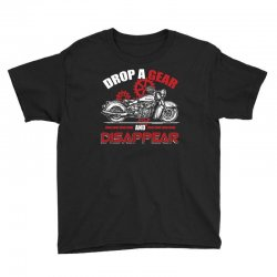 drop a gear and disappear   motorcycle t shirt Youth Tee | Artistshot