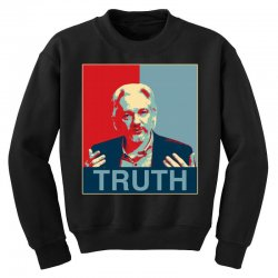 julian assange Youth Sweatshirt | Artistshot