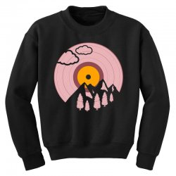 record landscape Youth Sweatshirt | Artistshot