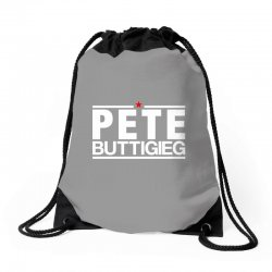 pete buttigieg for dark Drawstring Bags | Artistshot