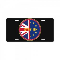 britain stay in the eu License Plate | Artistshot