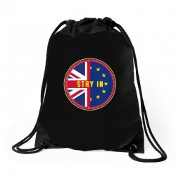 britain stay in the eu Drawstring Bags | Artistshot