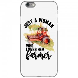 just a woman who loves her farmer for light iPhone 6/6s Case | Artistshot