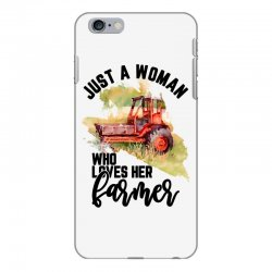 just a woman who loves her farmer for light iPhone 6 Plus/6s Plus Case | Artistshot