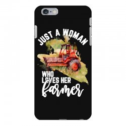 just a woman who loves her farmer for dark iPhone 6 Plus/6s Plus Case | Artistshot