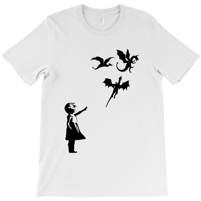 Dragon And Girls T-shirt | Artistshot