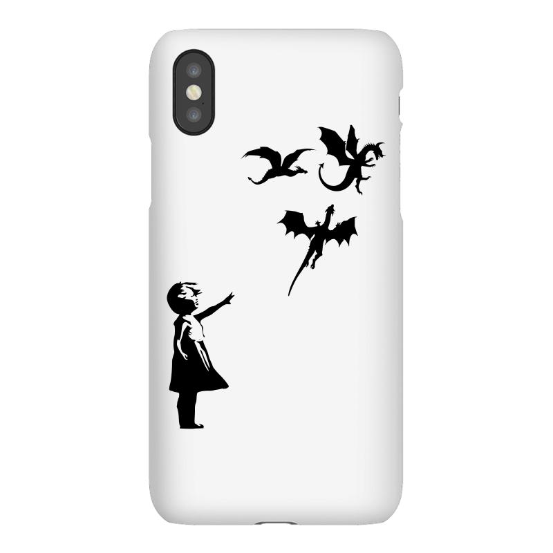 Dragon And Girls Iphonex Case | Artistshot
