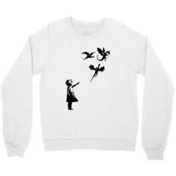 dragon and girls Crewneck Sweatshirt | Artistshot