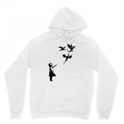 dragon and girls Unisex Hoodie | Artistshot