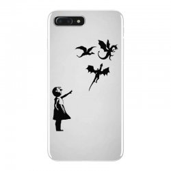 dragon and girls iPhone 7 Plus Case | Artistshot