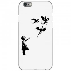 dragon and girls iPhone 6/6s Case | Artistshot