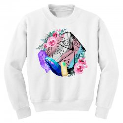 trans flag d20 Youth Sweatshirt | Artistshot