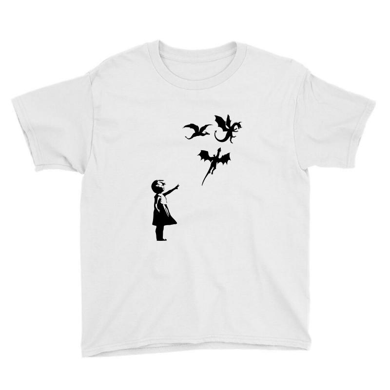 Dragon And Girls Youth Tee | Artistshot
