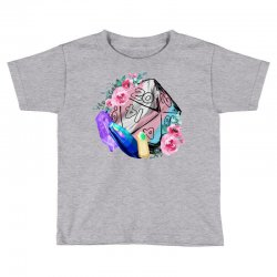 trans flag d20 Toddler T-shirt | Artistshot