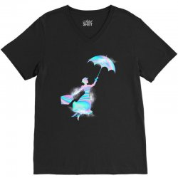 mary poppins hologram V-Neck Tee | Artistshot