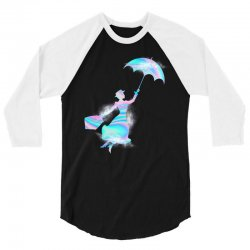mary poppins hologram 3/4 Sleeve Shirt | Artistshot
