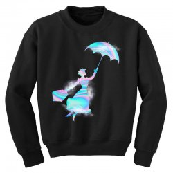 mary poppins hologram Youth Sweatshirt | Artistshot