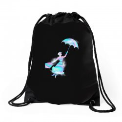 mary poppins hologram Drawstring Bags | Artistshot