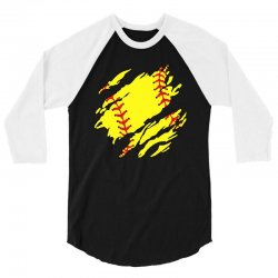 softball inside 3/4 Sleeve Shirt | Artistshot