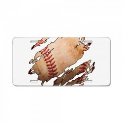 baseball inside License Plate | Artistshot