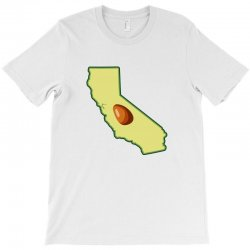 avocado california map T-Shirt | Artistshot