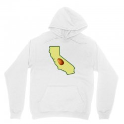 avocado california map Unisex Hoodie | Artistshot