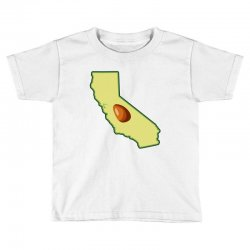 avocado california map Toddler T-shirt | Artistshot