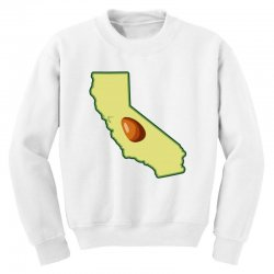 avocado california map Youth Sweatshirt | Artistshot