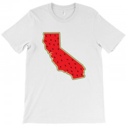 watermelon california map T-Shirt | Artistshot